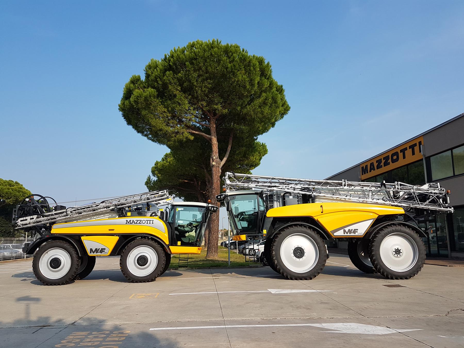 Italian sprayers make debut at Cereals 2019