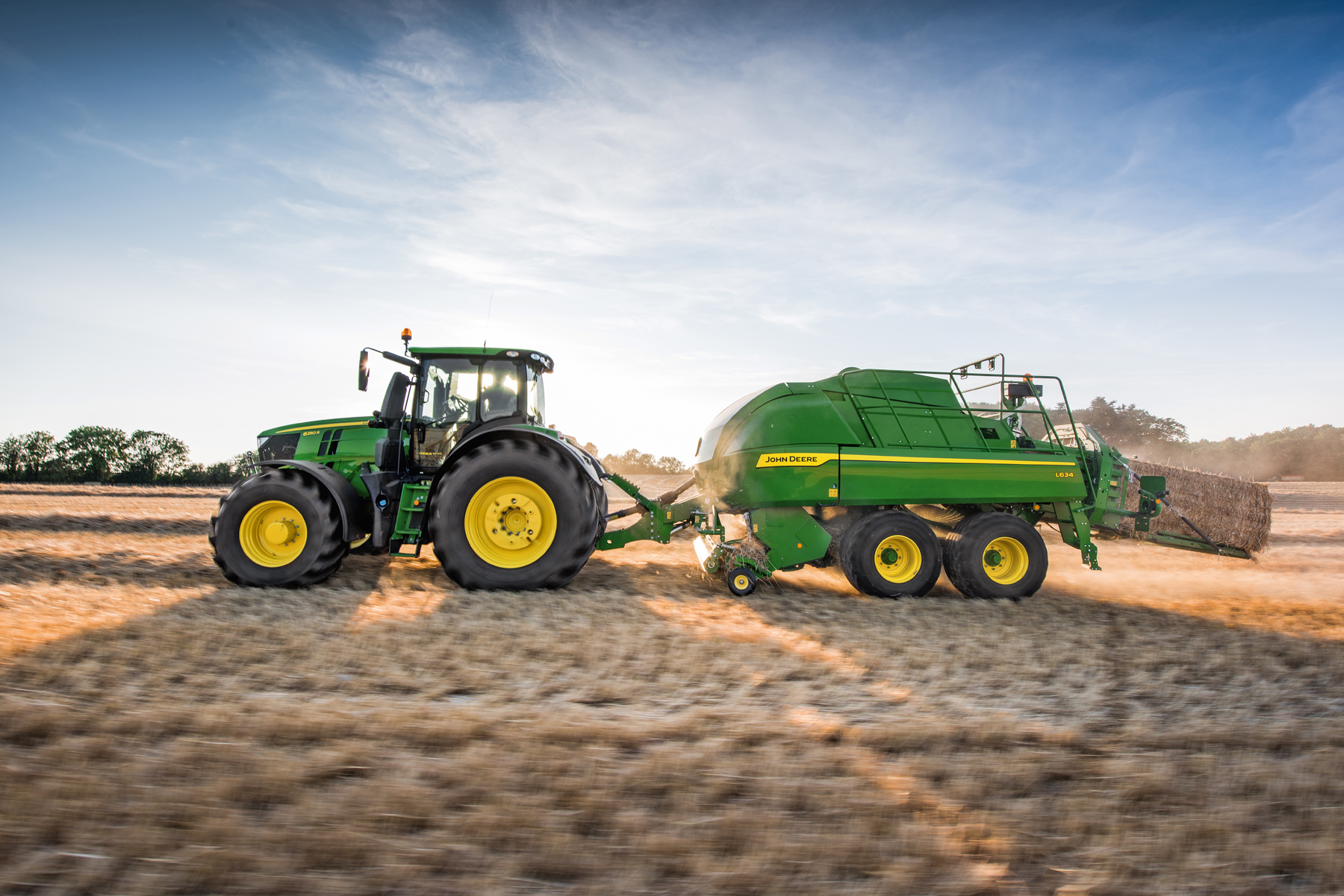 John Deere launches new large square balers