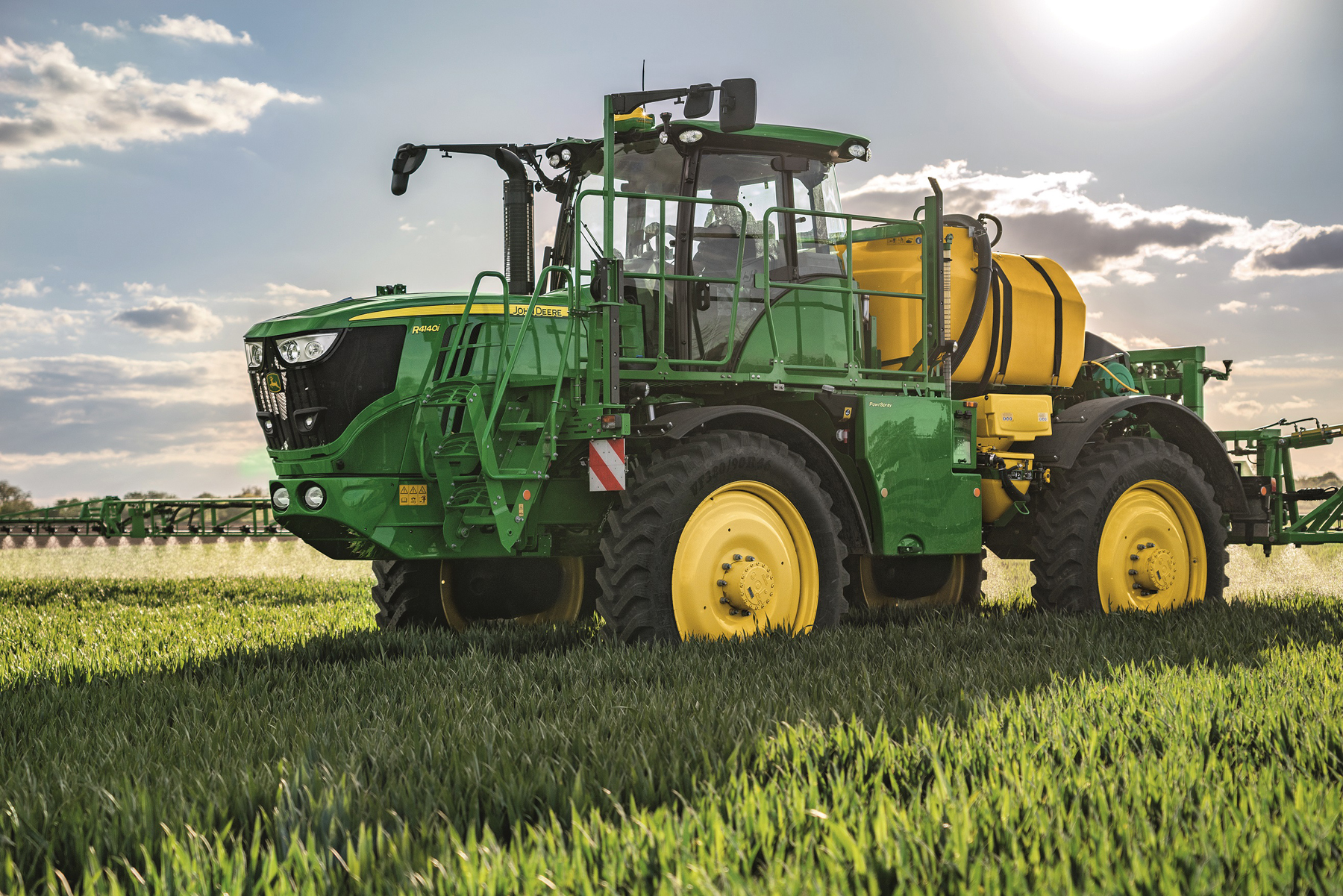 New self-propelled sprayers from John Deere