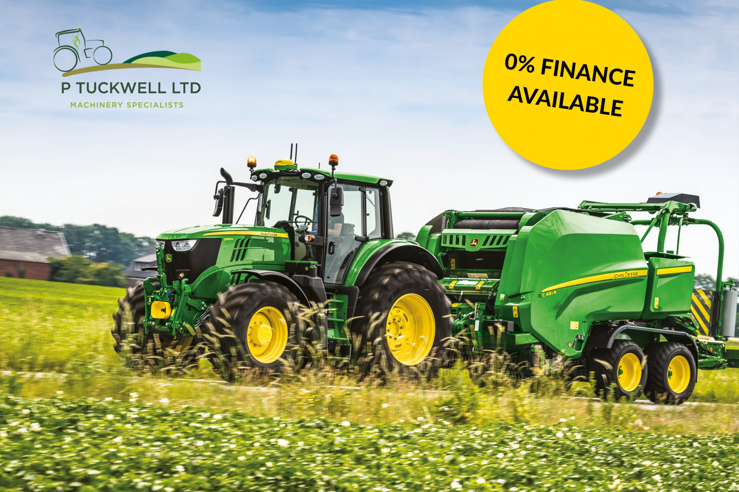 Finance Offer on 6M Tractors