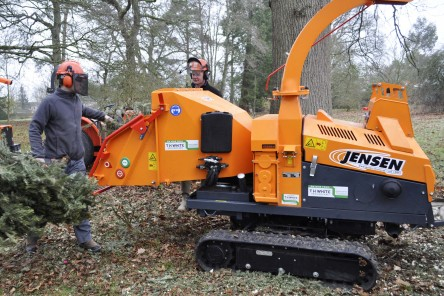 JENSEN WOOD CHIPPERS