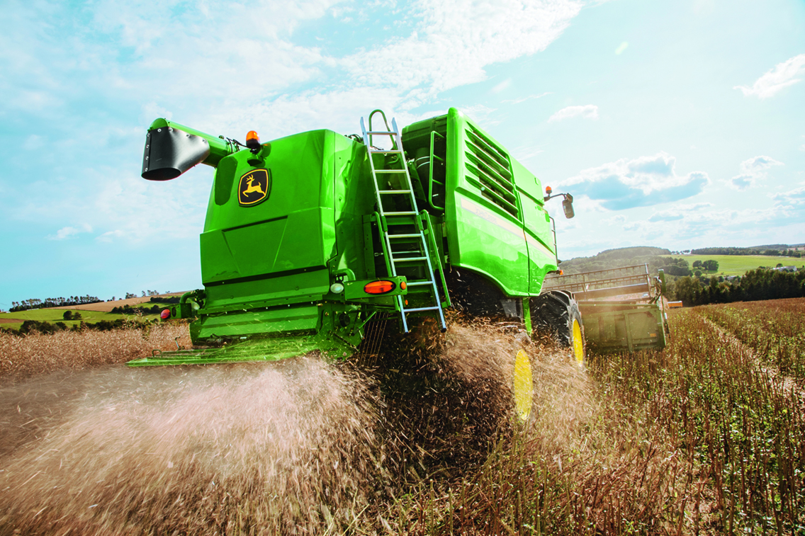 Ensure your combine is fit for harvest