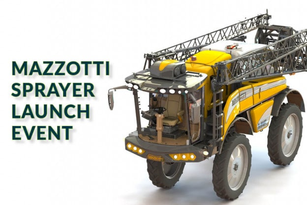 CANCELLED: Mazzotti Sprayer Launch Event