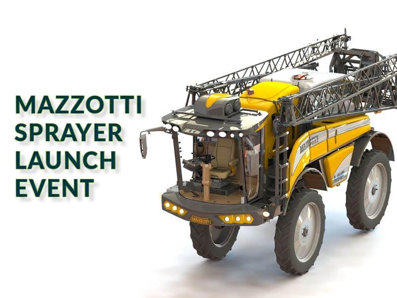 CANCELLED: Mazzotti Sprayer Launch Event