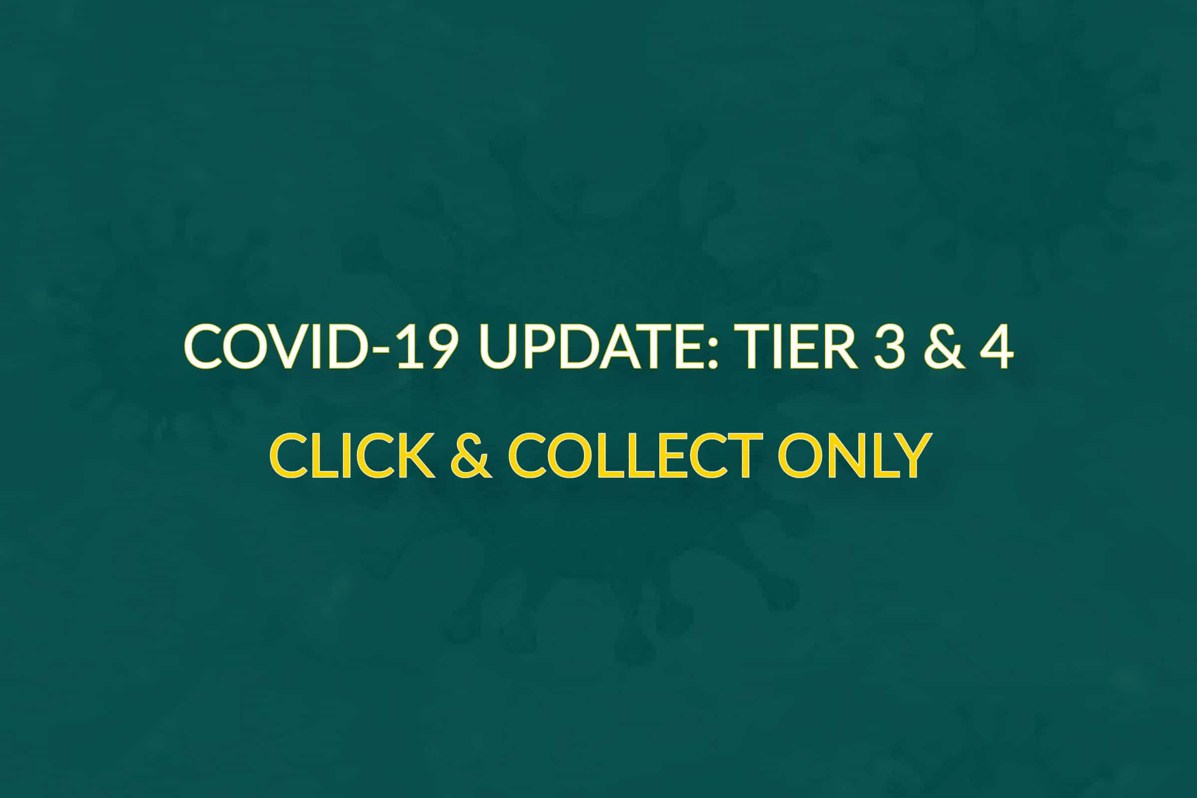 COVID UPDATE: New Tier Restrictions for Maulden, Cromer, Dunmow & Rayleigh