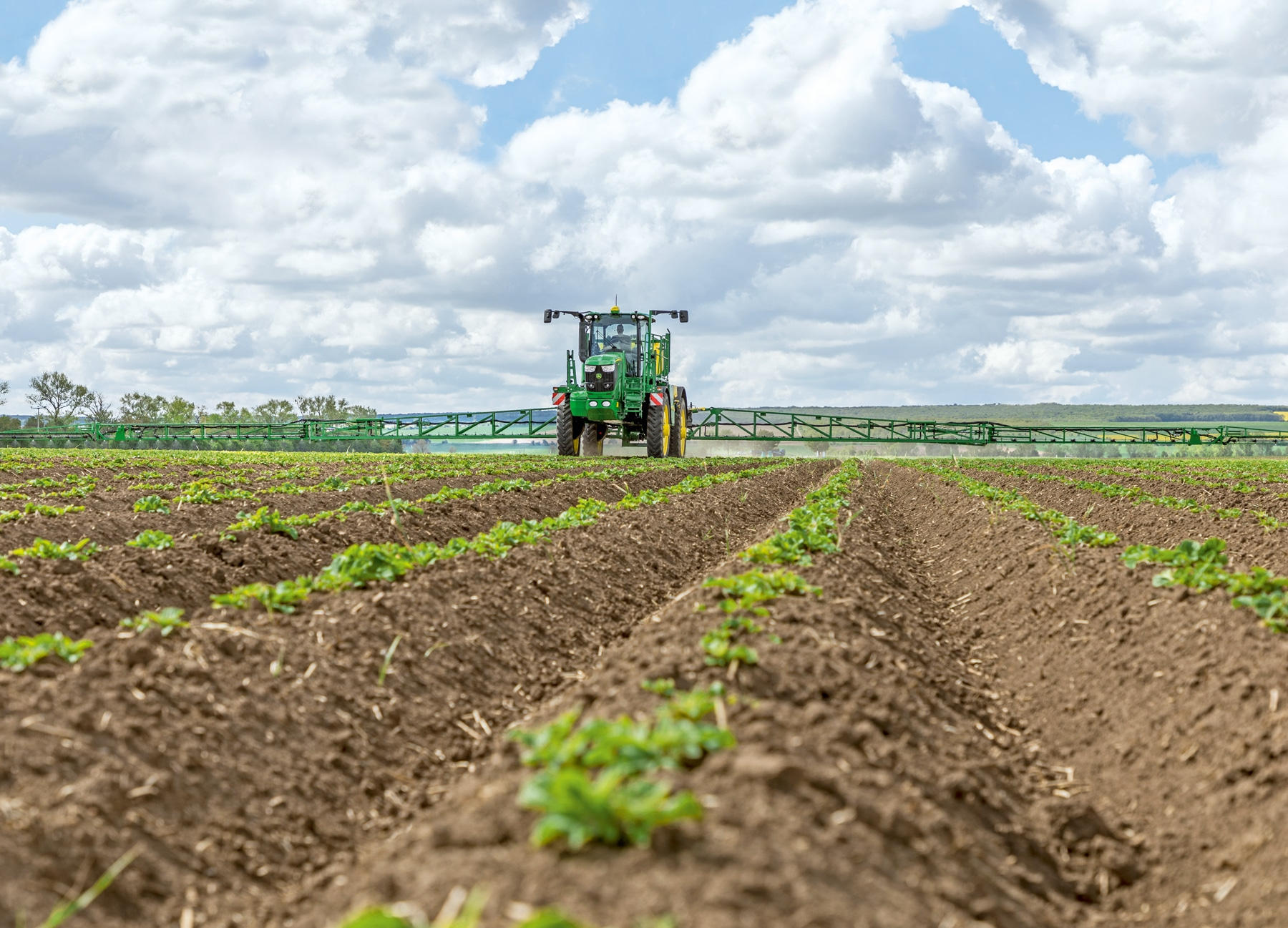 John Deere's Take on Sustainable Economy with Smart Technology