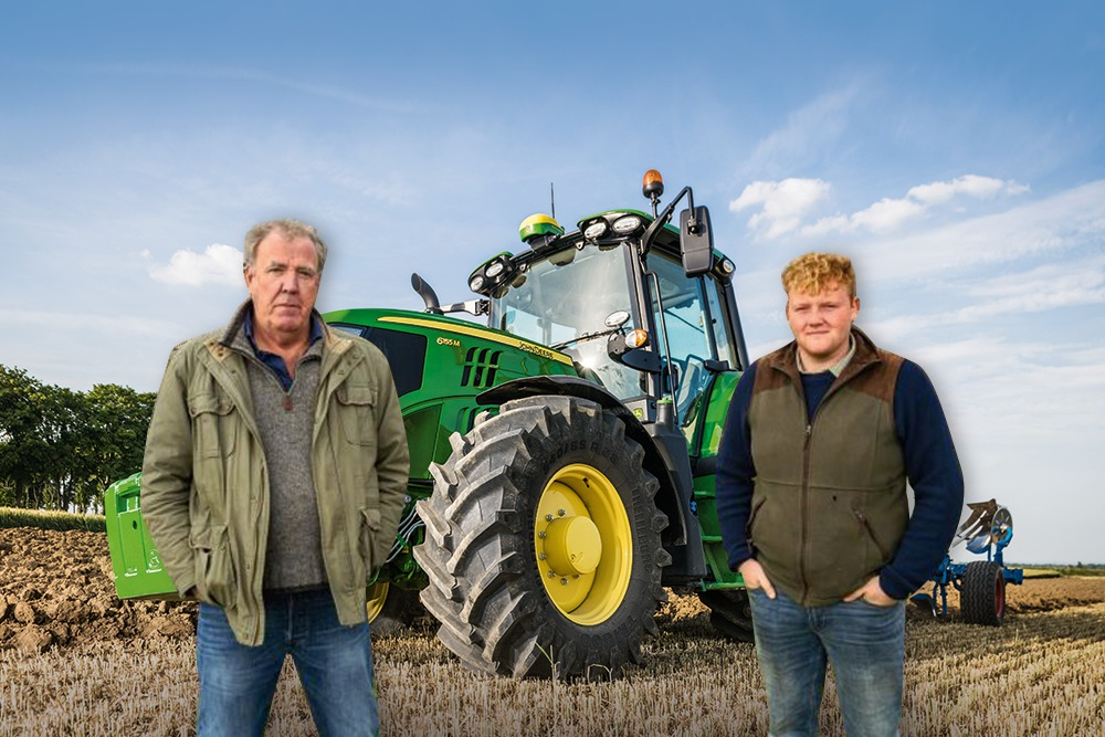 The Tuckwells Team have been binge watching Clarksons Farm